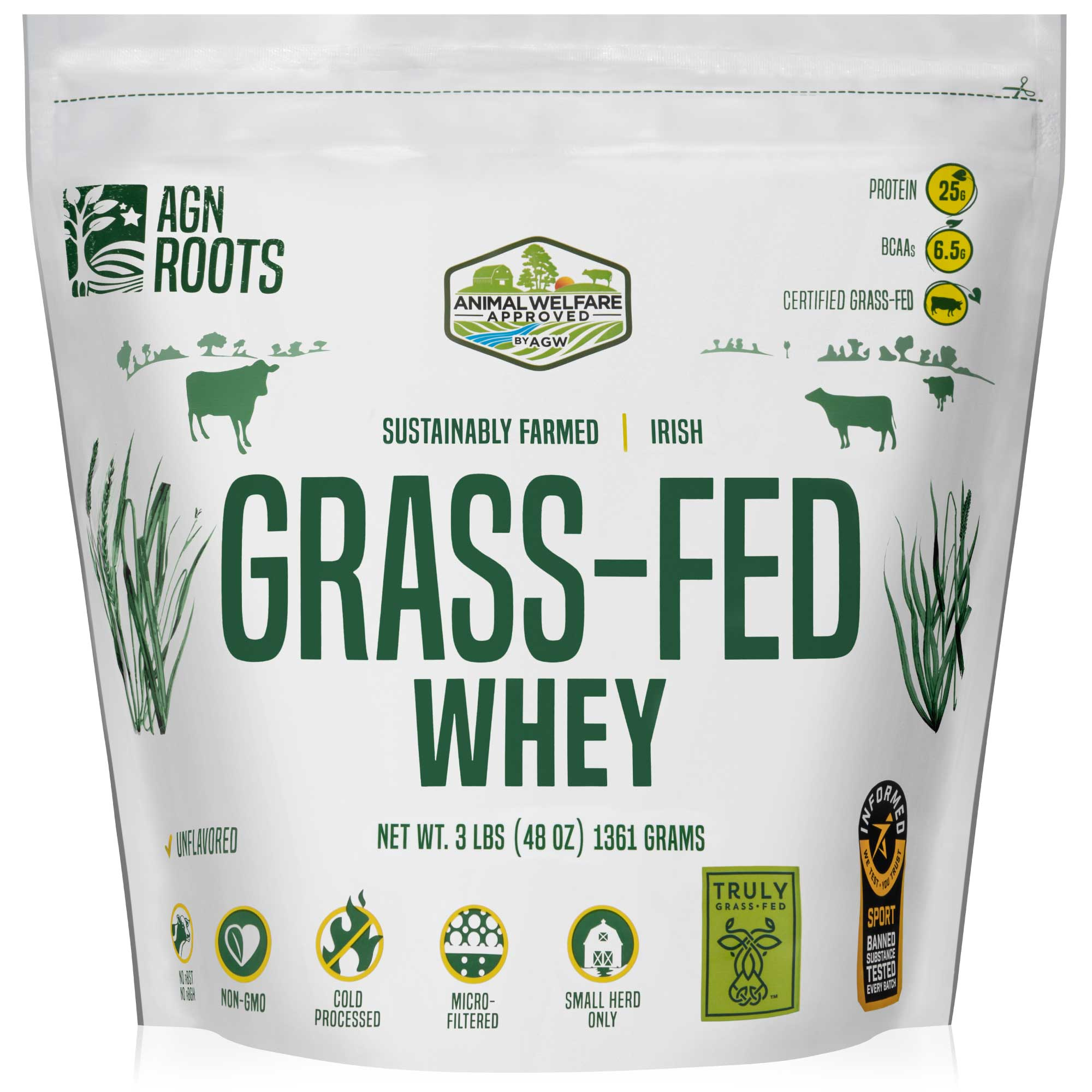 AGN Roots Grassfed Whey