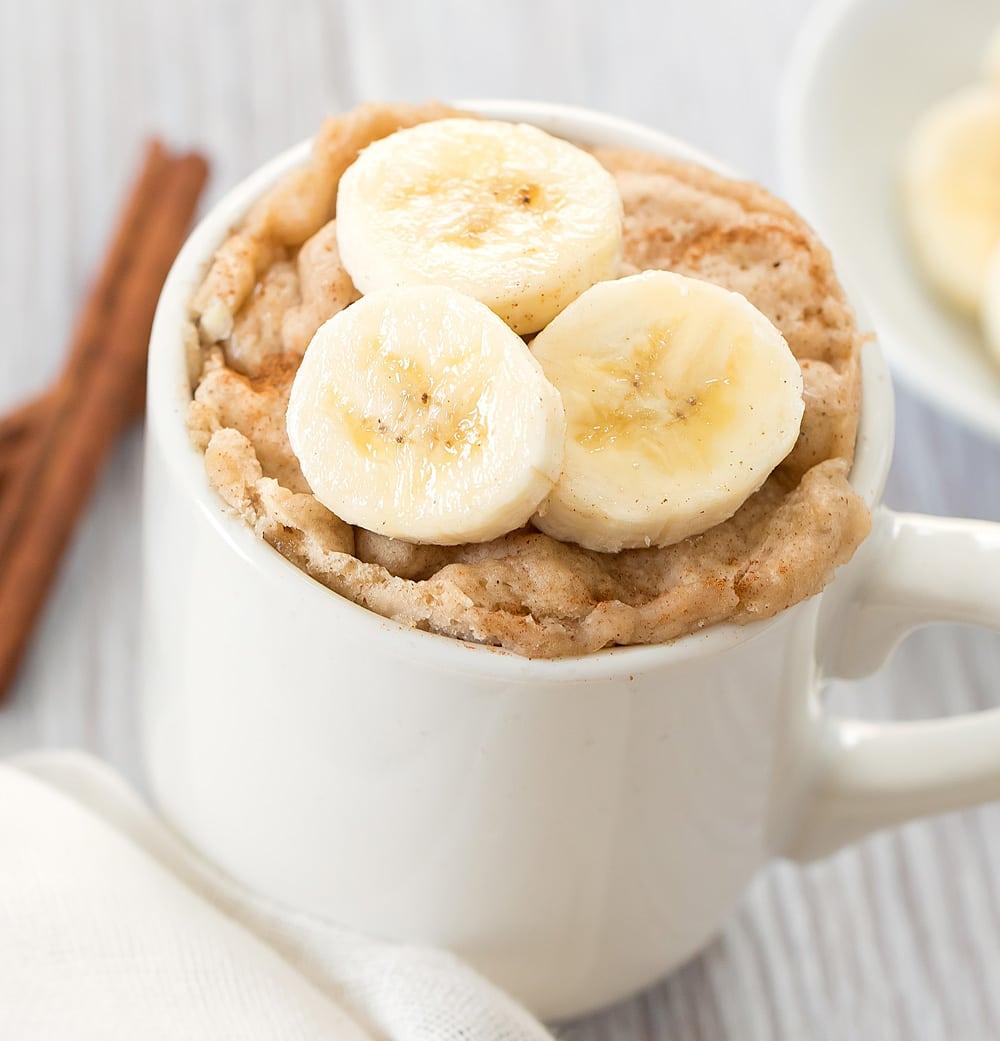 banana bread mug cake 2
