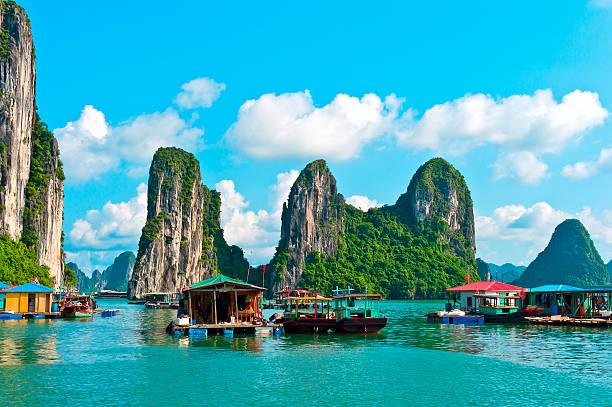 Halong Bay, Vietnam, Southeast Asia