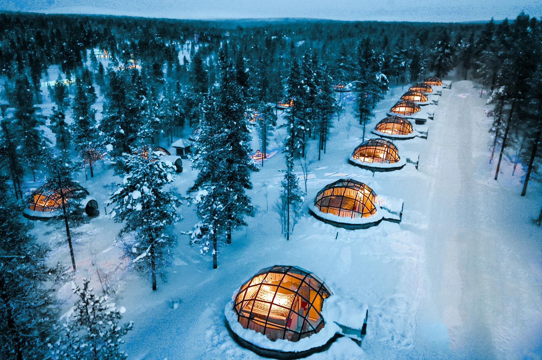 What It's Really Like to Spend the Night in an Igloo in Lapland, Finland