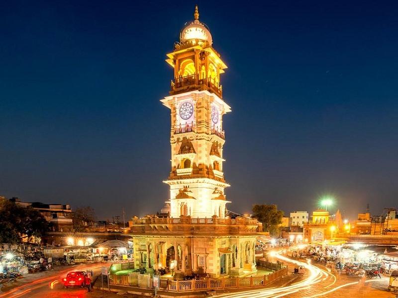 Ghanta Ghar / Clock Tower, Jodhpur - Timings, History, Best time to visit