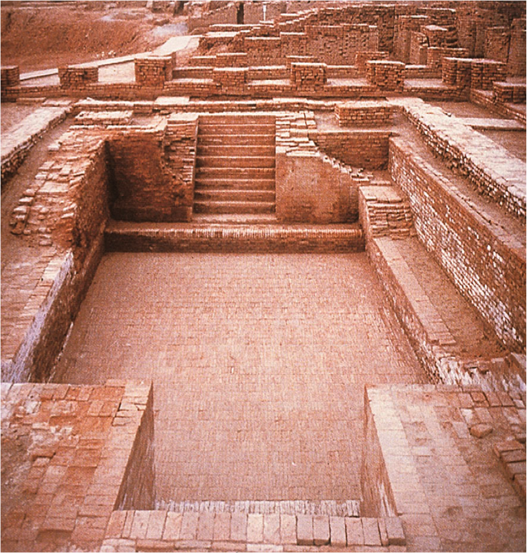 Indus Valley Civilization: The Great Bath of Mohenjo Daro. | Indus valley civilization, Ancient history archaeology, Mohenjo daro