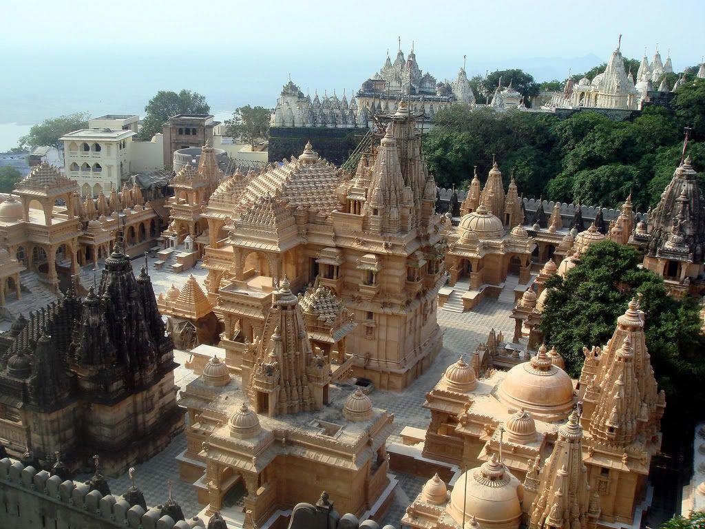 Palitana Temple in B havnagar | Jain temple, India architecture, India travel