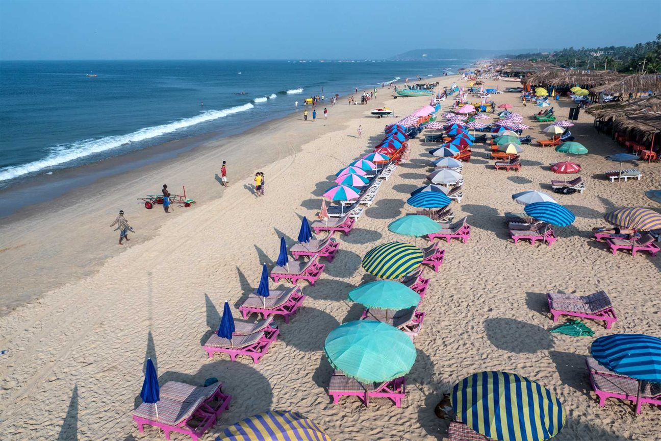 Goa Beaches in the North and South