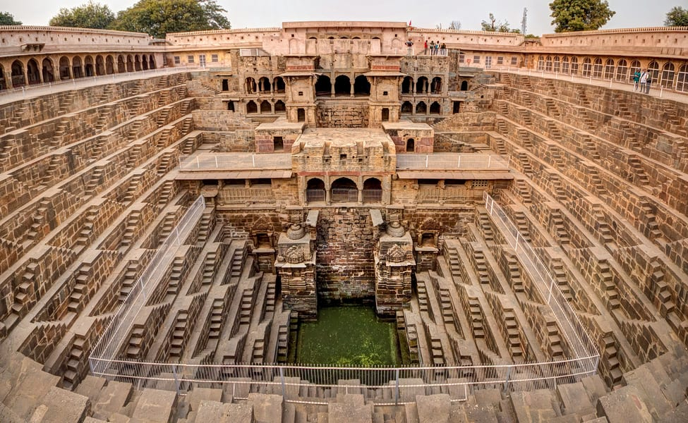 Day Trip To Chand Baori With Guide Flat 10% Off