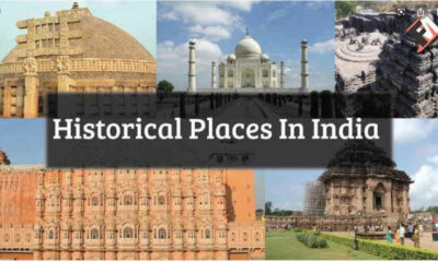 Top 10 Historical Places In India