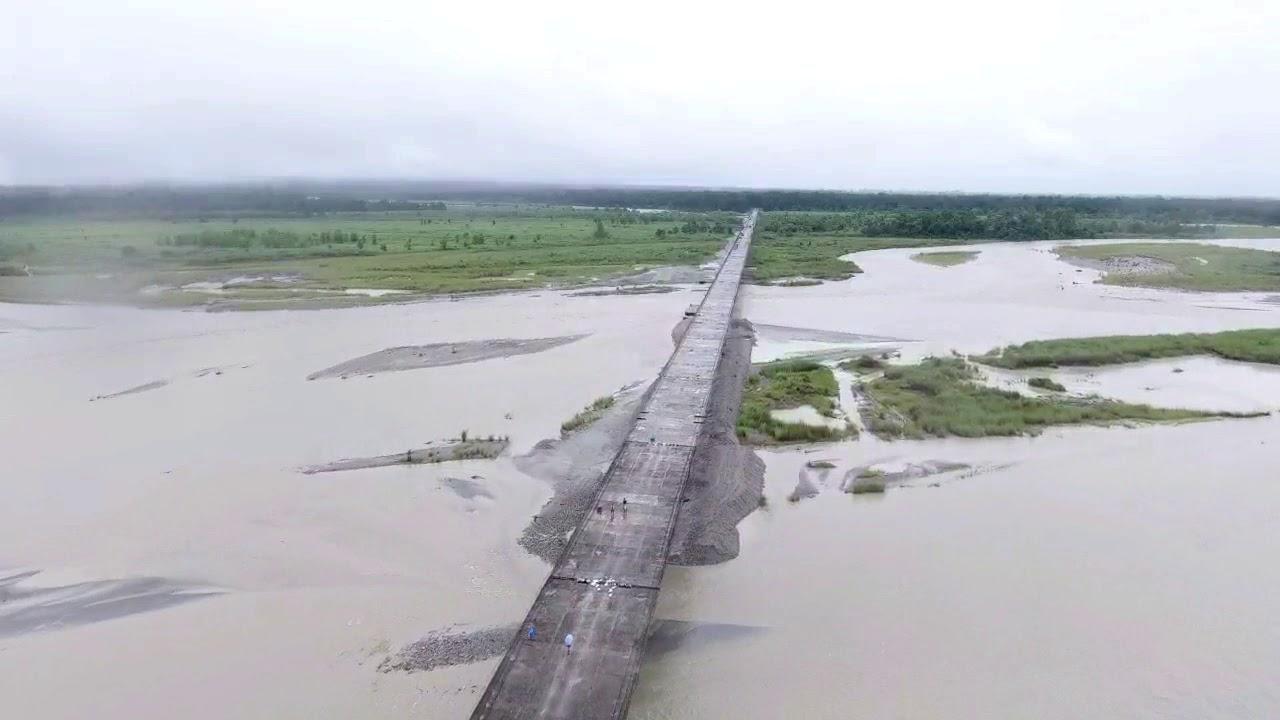 Longest Bridge / of Arunachal Pradesh Dibang / Bridge is the / second longest in India - YouTube