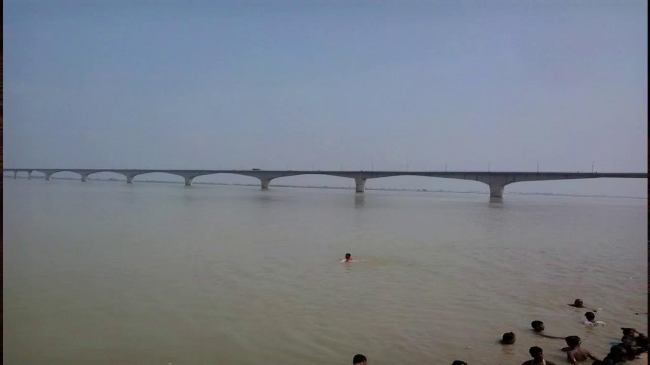 Vikramshila Setu Bridge Over Ganga Bhagalpur Bihar - YouTube