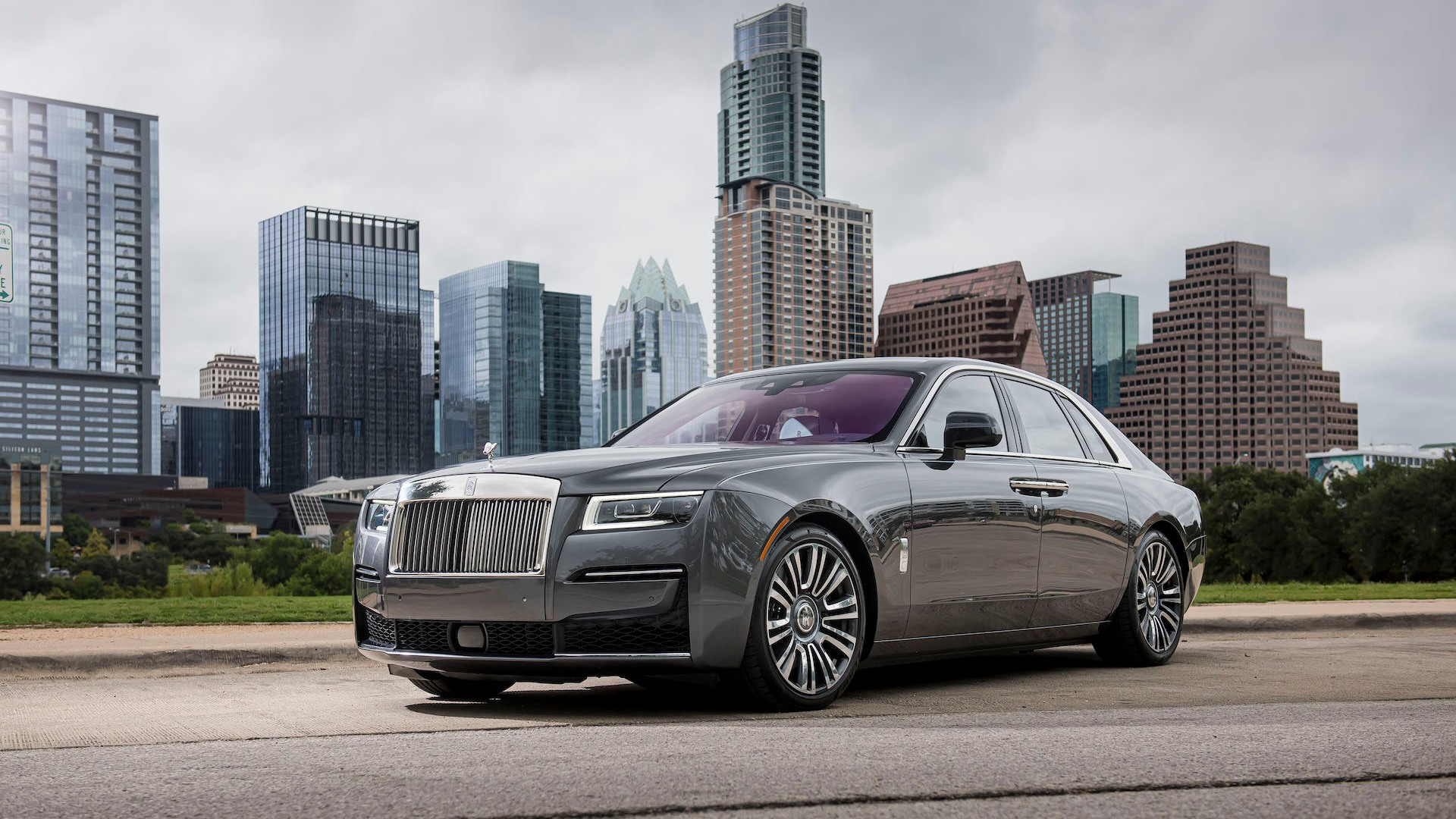 First drive review: 2021 Rolls-Royce Ghost floats like a butterfly, stings like a V-12