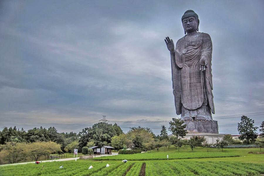 390-foot Buddha near Narita Airport the tallest in Japan - Stripes