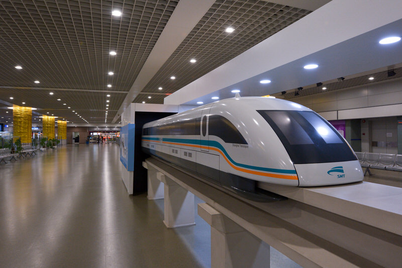 Shanghai Maglev, 268 mph, China
