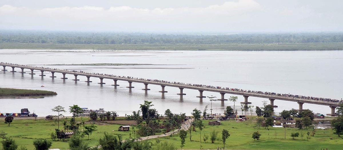 Dhola Sadiya - India's Longest River Bridge