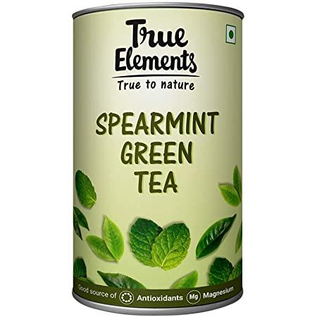 True Elements Spearmint Green Tea