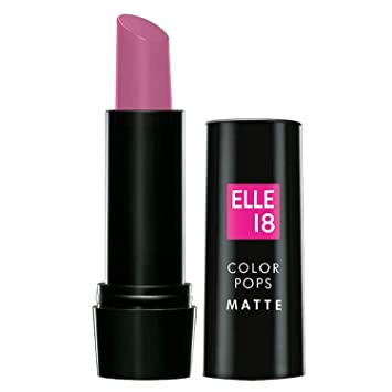 Buy Elle18 Color Pops Matte Lipstick C61 Pink Berry, 4.3 g Online at Low Prices in India - Amazon.in