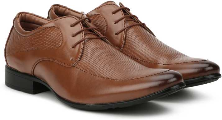 Bata TAZO DERBY Lace Up For Men - Buy Tan Color Bata TAZO DERBY Lace Up For Men Online at Best Price - Shop Online for Footwears in India | Flipkart.com
