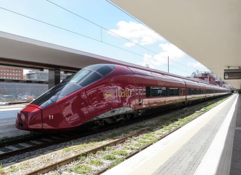 AGV Italo, 224 mph, Italy