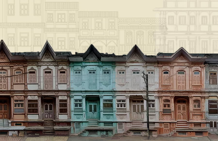 The marvelous Dawoodi Bohra Homes of the understated city of Sidhpur in Gujarat