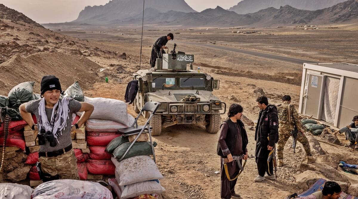 The Taliban close in on Afghan cities, pushing the country to the brink | World News,The Indian Express