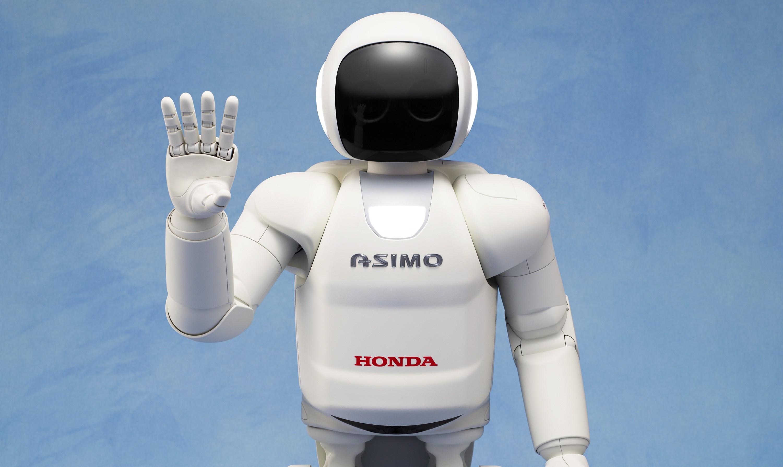 ASIMO one hand up