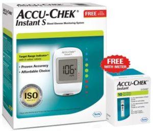 Accu-Chek Instant S Blood Glucose Monitor