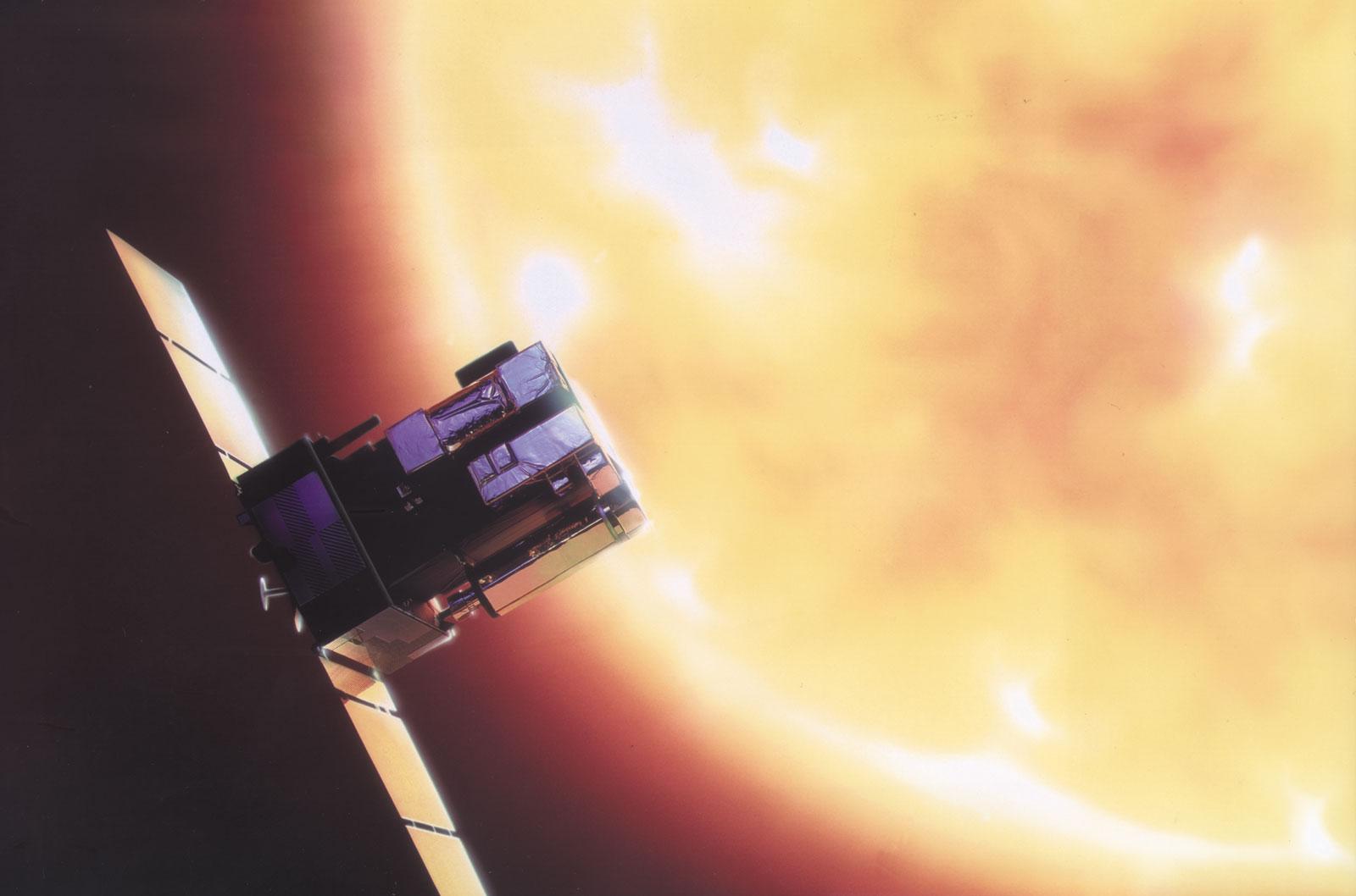 Solar and Heliospheric Observatory   satellite   Britannica