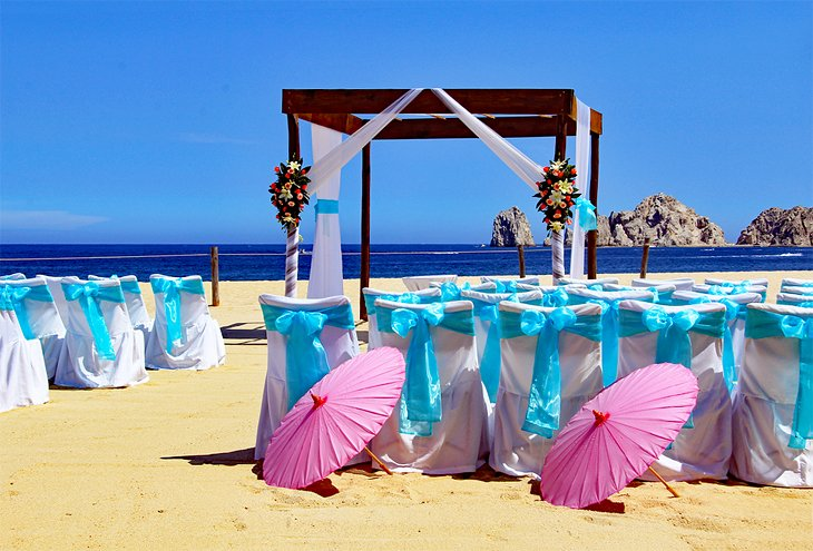 Baja beach wedding in Cabo San Lucas