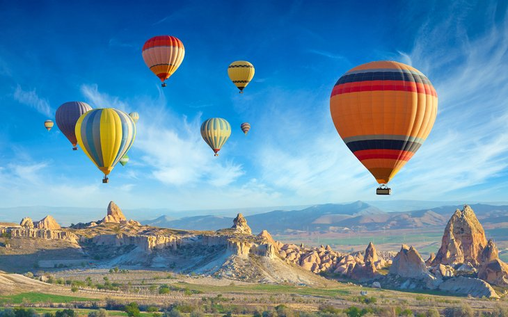 Balloons at Cappadocia, Turkey