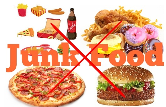 Avoid junk foods