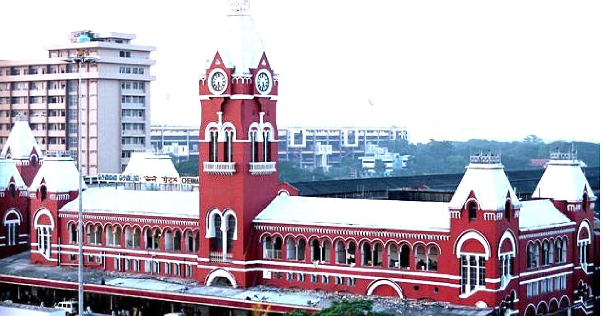 Chennai-Central-railway-station
