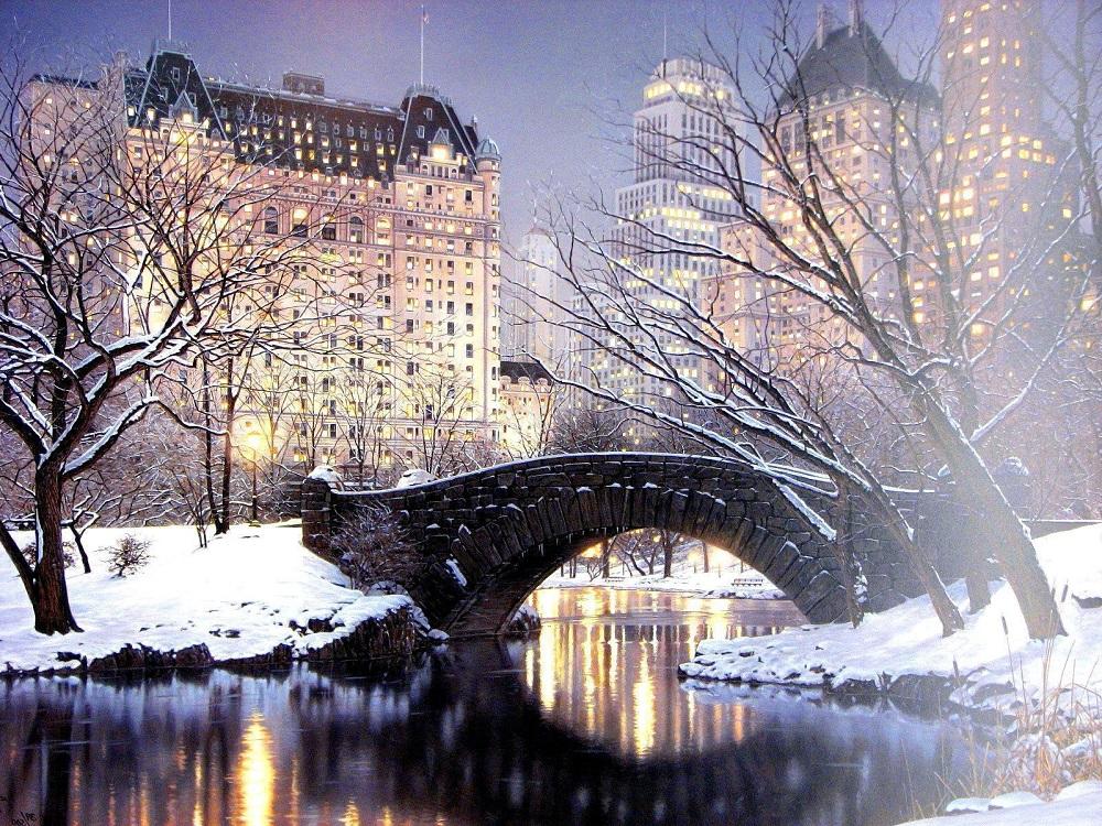 City-park-winter