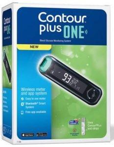 ContourPlus Blood Glucose Monitoring System Glucometer
