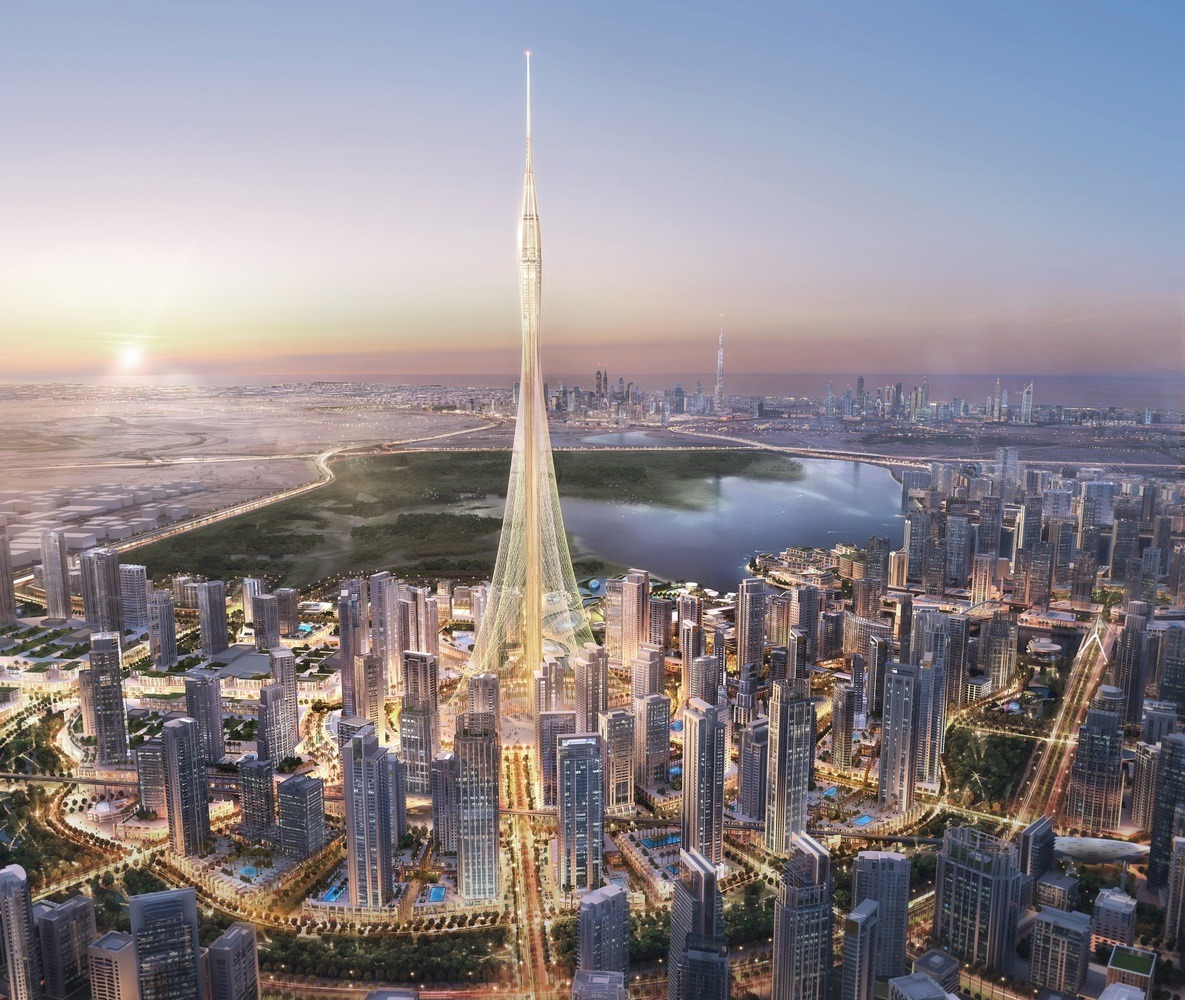 Dubai Creek Tower: The World's tallest building - Guiding Architects