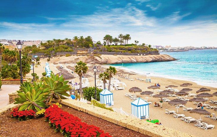 El Duque Beach on Tenerife
