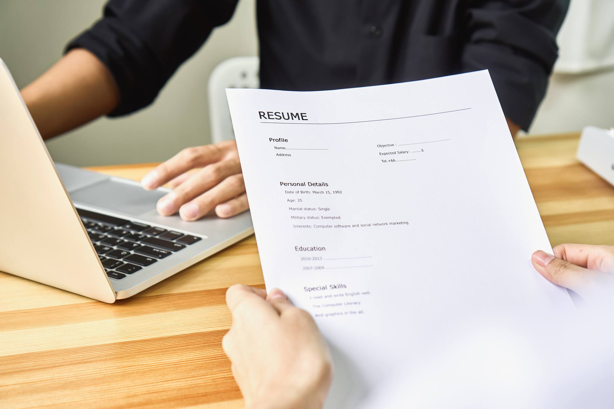 Fuzzy Resume Facts
