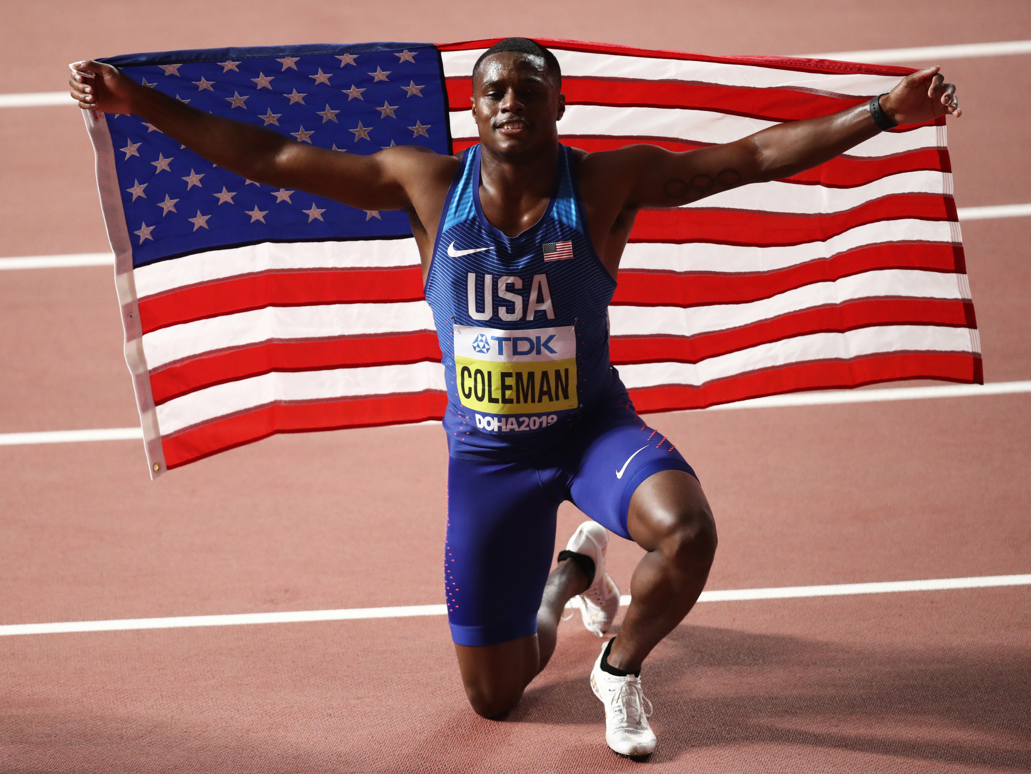 Coleman still out of Olympics as doping ban cut to 18 months