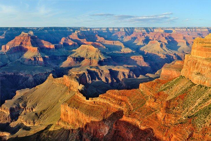Hopi Point at sunset, Grand Canyon National Park