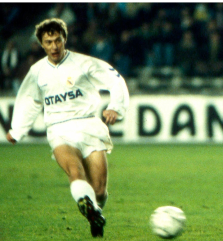 Real Madrid player Emilio Butragueno