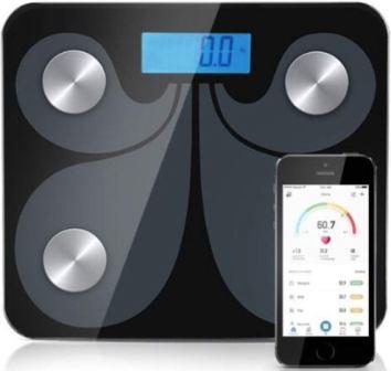 Jimwey Jicson J113 Smart Bluetooth BCA-130 Body Fat BMI Weight Machine