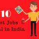 Top 10 Job Portals In India