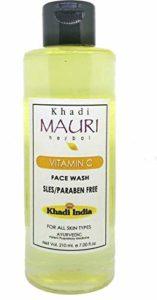 Khadi Mauri Herbal Vitamin C Facial Cleanser