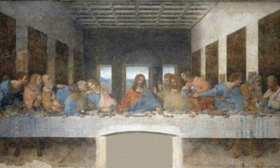 Last Supper wall painting restoration Leonardo da 1999