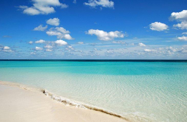 Lucaya Beach on Grand Bahama Island