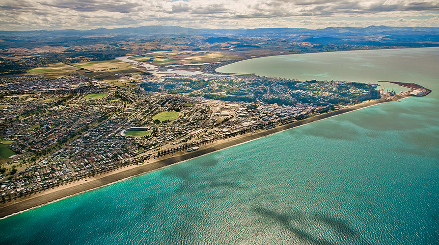 Napier City aerial