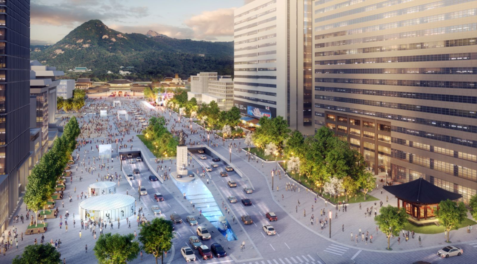 New Gwanghwamun Square by Daniel Valle Architects + Kunchook-Moonhwa – aasarchitecture