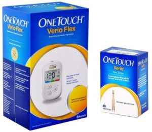OneTouch Verio Flex Blood Glucose Monitor