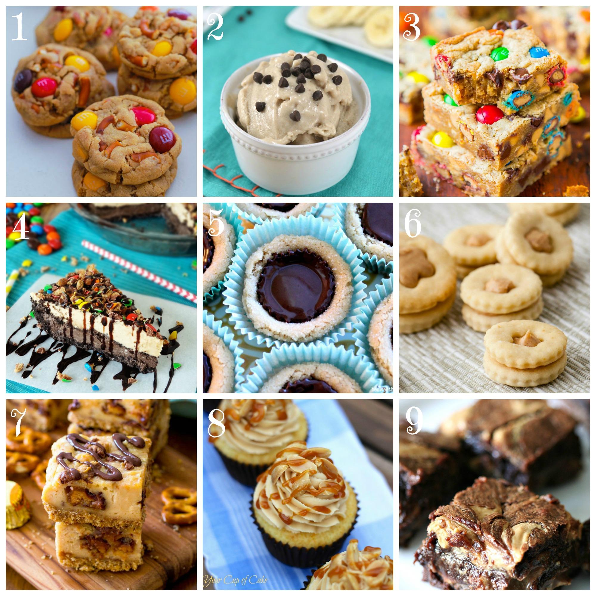 Peanut-Butter-Desserts