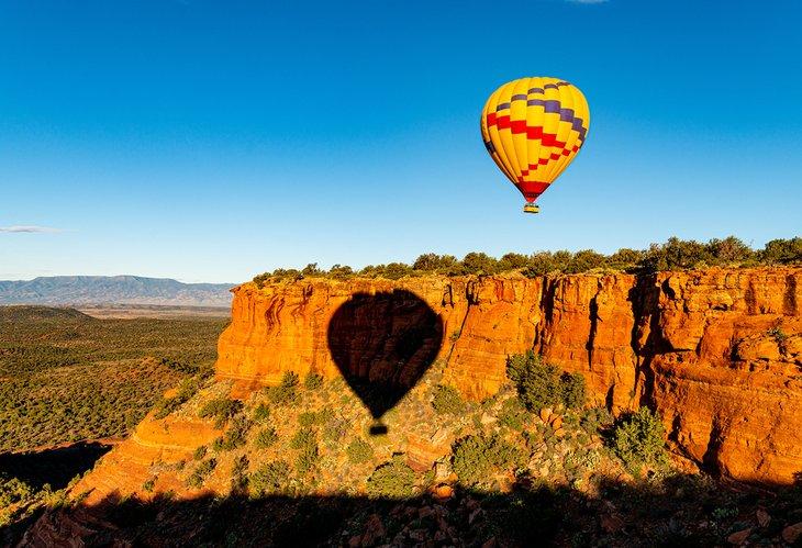 Sedona hot air ballooning
