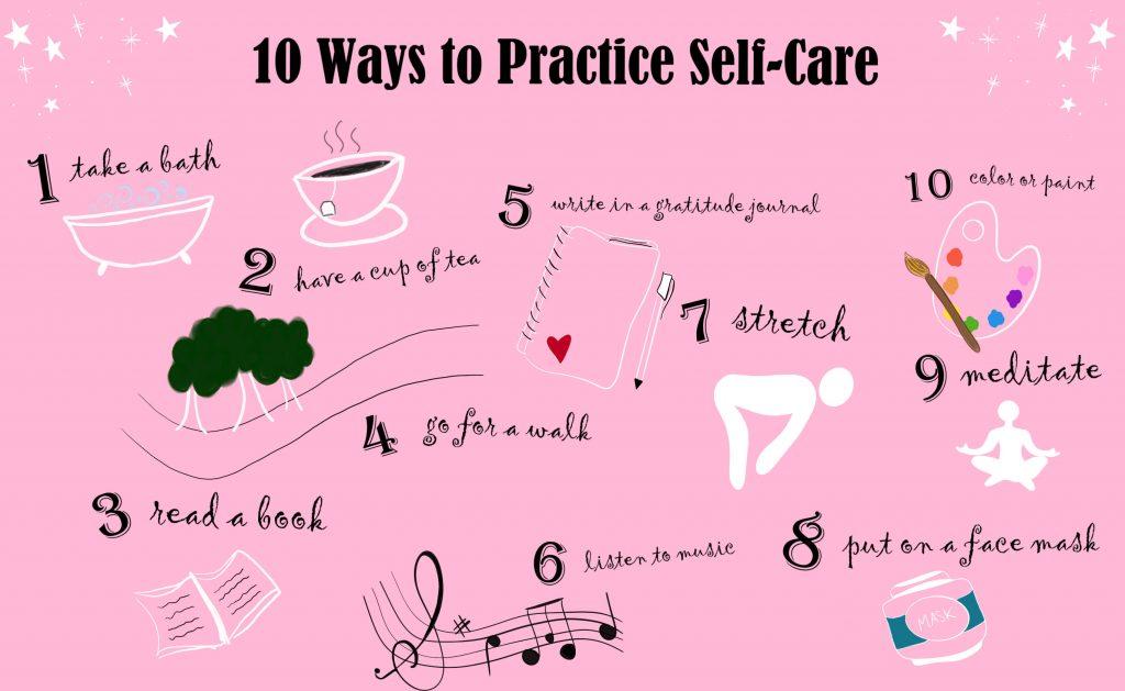 Top 10 Self Care Tips