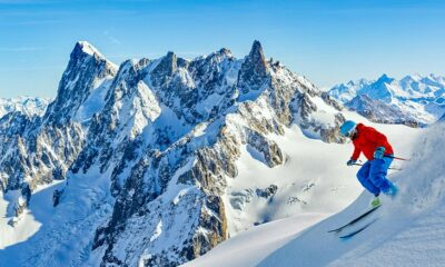 Skiing the Vallee Blanche in Chamonix