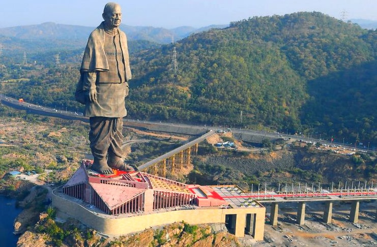 Statue of Unity, Gujarat - Interesting Facts, Location, Timings & Entry Fee